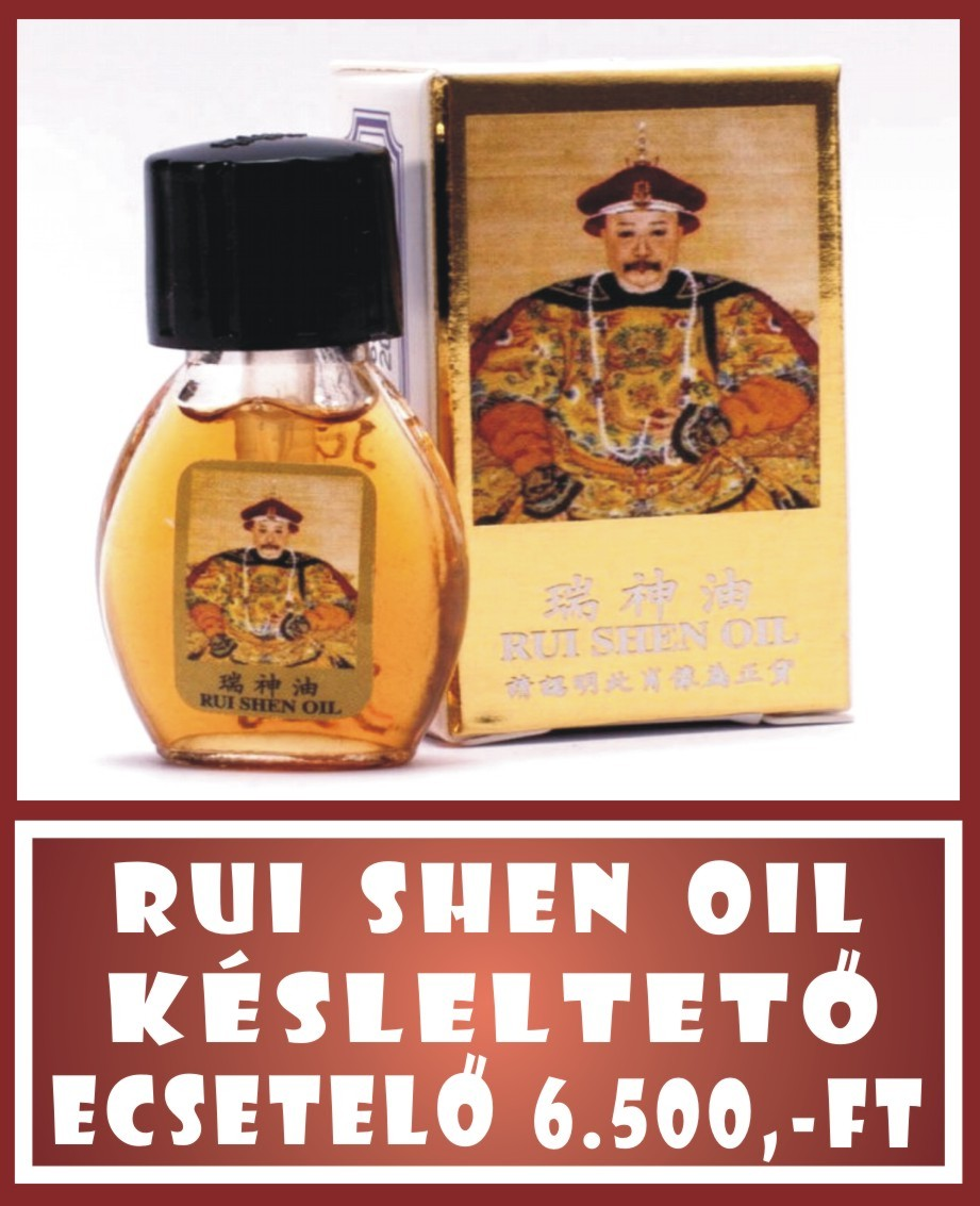 RUI SHEN OIL orgazmus késleltető olaj - 3ml